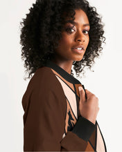 Load image into Gallery viewer, Dwayne Elliott Collection  Women's Bomber Jacket - Dwayne Elliott Collection