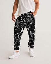 Load image into Gallery viewer, Dwayne Elliot Collection Black Rose Men's Track Pants - Dwayne Elliott Collection
