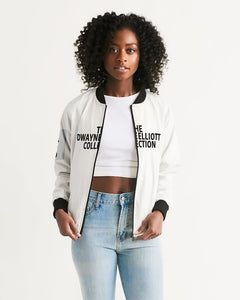 Dwayne Elliott Collection Women's Bomber Jacket - Dwayne Elliott Collection