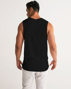 Dwayne Elliott Collection Skull Rose Men's Sport Tank - Dwayne Elliott Collection