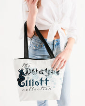 Load image into Gallery viewer, Dwayne Elliott Collection Canvas Zip Tote - Dwayne Elliott Collection