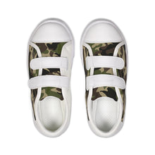 Load image into Gallery viewer, Dwayne Elliott Collection Camo Kids Velcro Sneaker - Dwayne Elliott Collection