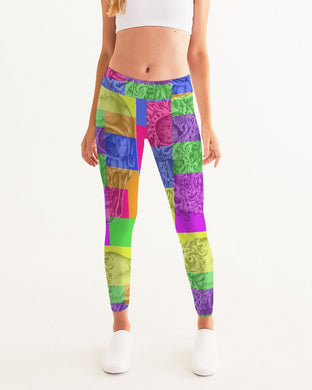 Skull Bow Women's Yoga Pants