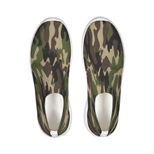 Load image into Gallery viewer, Dwayne Elliott Collection Camo Slip-On Flyknit Shoe - Dwayne Elliott Collection