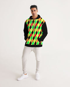 Dwayne Elliott Collection Argyle Men's Hoodie - Dwayne Elliott Collection