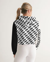 Load image into Gallery viewer, Dwayne Elliott Collection Destiny Women's Cropped Hoodie - Dwayne Elliott Collection