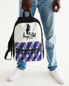 Dwayne Elliott Collection Argyle Small Canvas Backpack - Dwayne Elliott Collection