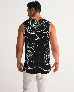 Dwayne Elliot Collection Black Rose Men's Sport Tank - Dwayne Elliott Collection