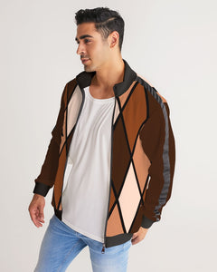 Dwayne Elliott Collection Men's Stripe-Sleeve Track Jacket - Dwayne Elliott Collection