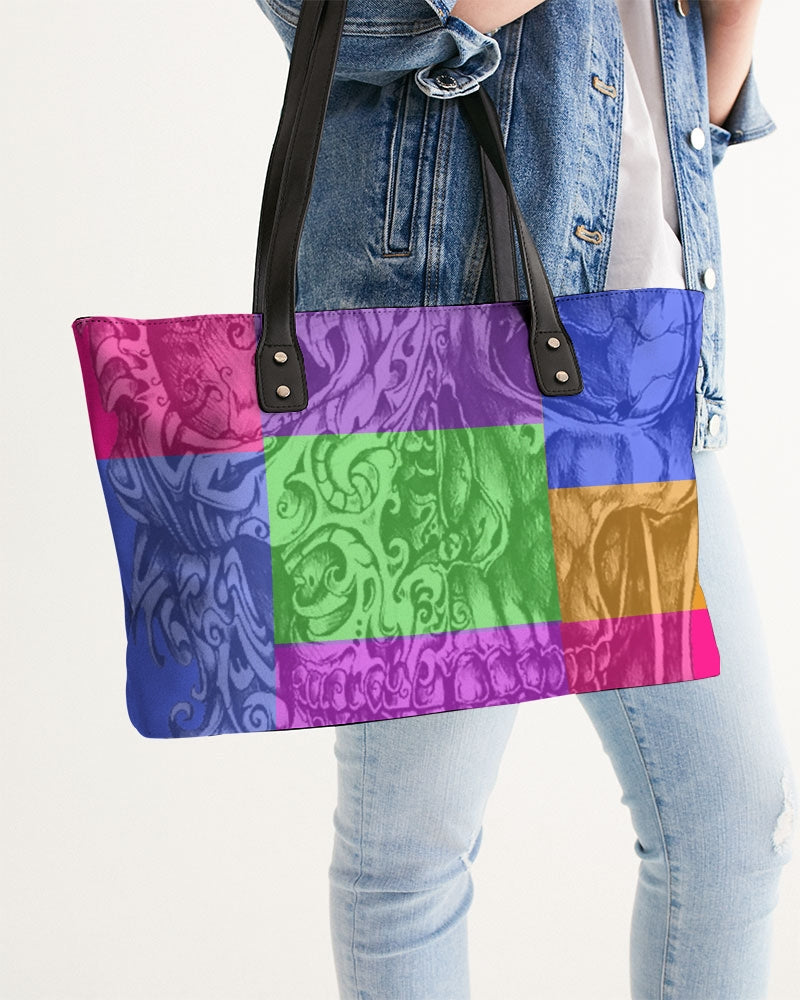 Skull Bow Stylish Tote