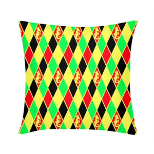 "Dwayne Elliott Colection RBG Throw Pillow Case 18""x18"" - Dwayne Elliott Collection"