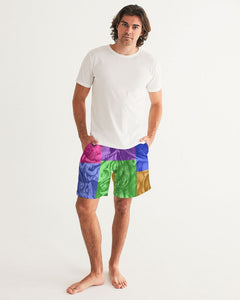 Skull Bow Men's Swim Trunk
