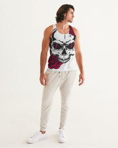 Dwayne Elliott Collection Skull Rose Men's Classic Tank - Dwayne Elliott Collection