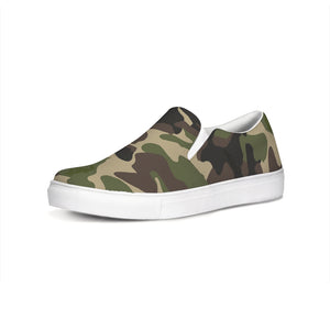 Dwayne Elliott Collection Camo Slip-On Canvas Shoe - Dwayne Elliott Collection