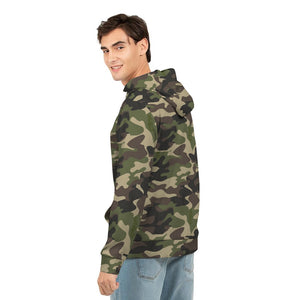Dwayne Elliott Collection Camo Men's Hoodie - Dwayne Elliott Collection