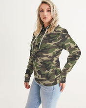 Load image into Gallery viewer, Dwayne Elliott Collection Camo Women's Hoodie - Dwayne Elliott Collection