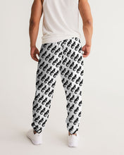 Load image into Gallery viewer, Dwayne Elliott Collection Logo All Print Men's Track Pants - Dwayne Elliott Collection