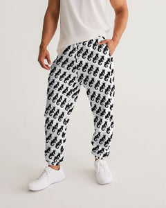 Dwayne Elliott Collection Logo All Print Men's Track Pants - Dwayne Elliott Collection