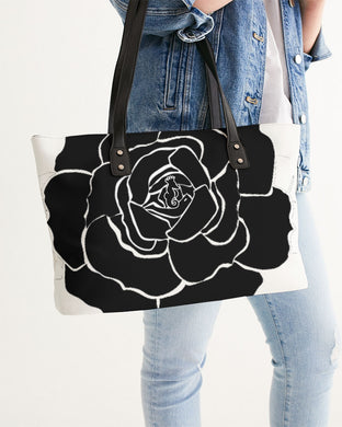Dwayne Elliot Collection Black Rose Stylish Tote - Dwayne Elliott Collection