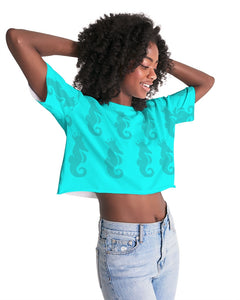 Dwayne Elliott Collection Women's Lounge Cropped Tee