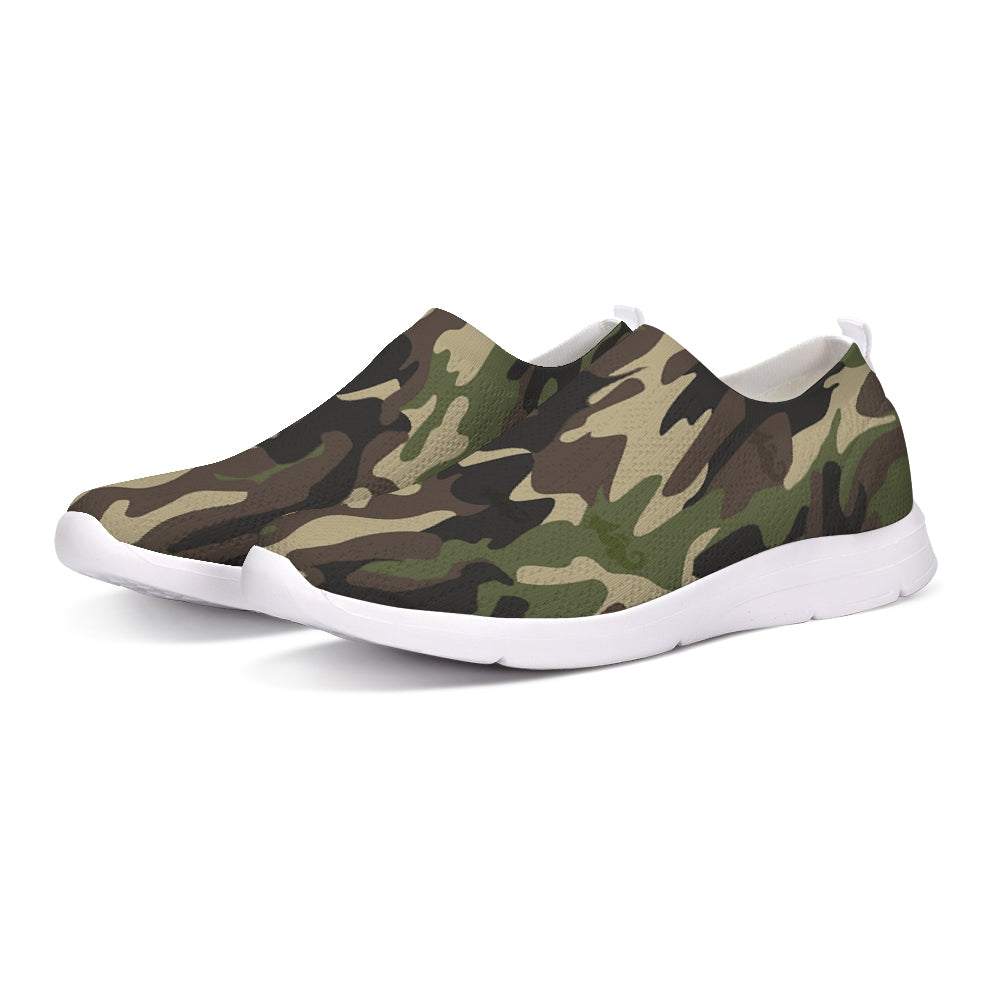 Dwayne Elliott Collection Camo Slip-On Flyknit Shoe - Dwayne Elliott Collection
