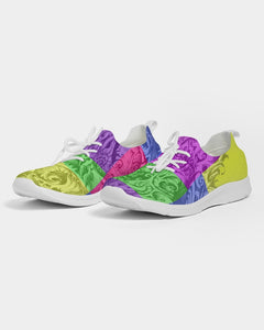 Skull Bow Men's Lace Up Flyknit Shoe