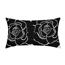 Load image into Gallery viewer, Dwayne Elliot Collection Black Rose King Pillow Case - Dwayne Elliott Collection