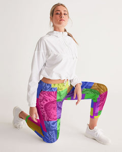 Skull Bow Women's Track Pants