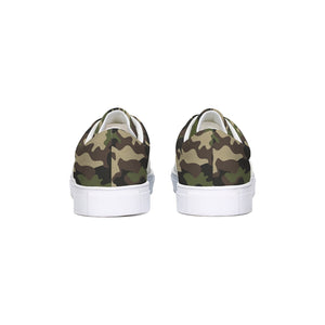 Dwayne Elliott Collection Camo Lace Up Canvas Shoe - Dwayne Elliott Collection