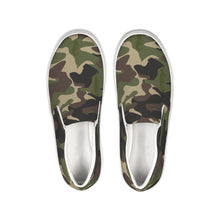Load image into Gallery viewer, Dwayne Elliott Collection Camo Slip-On Canvas Shoe - Dwayne Elliott Collection