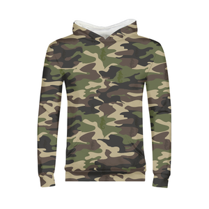 Dwayne Elliott Collection Camo Kids Hoodie - Dwayne Elliott Collection