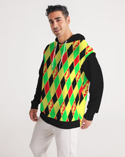 Load image into Gallery viewer, Dwayne Elliott Collection Argyle Men's Hoodie - Dwayne Elliott Collection