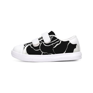 Dwayne Elliot Collection Black Rose Kids Velcro Sneaker - Dwayne Elliott Collection