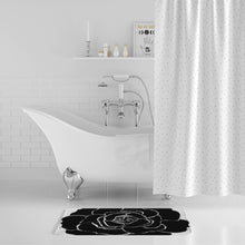 Load image into Gallery viewer, Dwayne Elliot Collection Black Rose Bath Mat - Dwayne Elliott Collection
