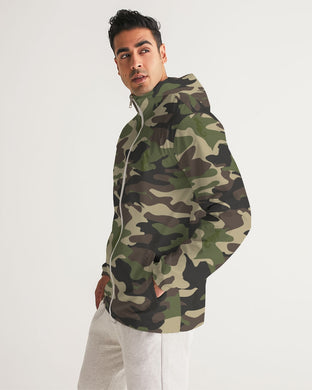 Dwayne Elliott Collection Camouflage Men's Windbreaker