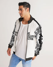 Load image into Gallery viewer, Dwayne Elliott Collection  Men's Stripe-Sleeve Track Jacket - Dwayne Elliott Collection