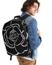 Laden Sie das Bild in den Galerie-Viewer, Dwayne Elliot Collection Black Rose Large Backpack - Dwayne Elliott Collection
