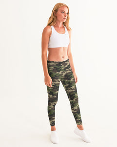 Dwayne Elliott Collection Camo Women's Yoga Pant - Dwayne Elliott Collection
