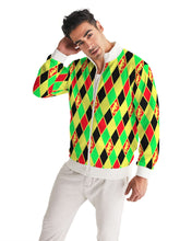 Load image into Gallery viewer, Dwayne Elliott Collection Argyle Men's Track Jacket - Dwayne Elliott Collection