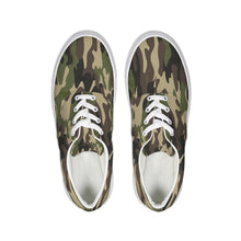 Load image into Gallery viewer, Dwayne Elliott Collection Camo Lace Up Canvas Shoe - Dwayne Elliott Collection
