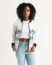 Laden Sie das Bild in den Galerie-Viewer, Dwayne Elliott Collection Paisley design Women's Bomber Jacket - Dwayne Elliott Collection