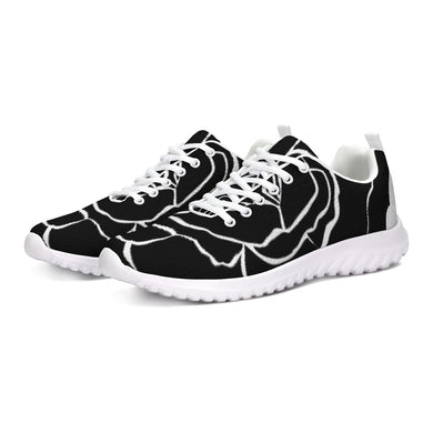 Dwayne Elliot Collection Black Rose Athletic Shoe - Dwayne Elliott Collection