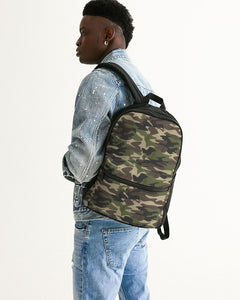 Dwayne Elliott Collection Camo Small Canvas Backpack - Dwayne Elliott Collection