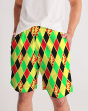 Load image into Gallery viewer, Dwayne Elliott Colection RBG Men's Jogger Shorts - Dwayne Elliott Collection