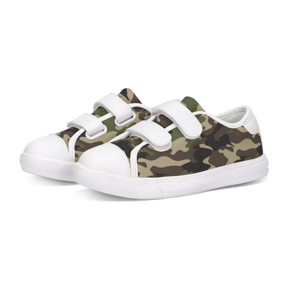 Dwayne Elliott Collection Camo Kids Velcro Sneaker - Dwayne Elliott Collection