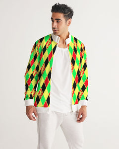 Dwayne Elliott Collection Argyle Men's Track Jacket - Dwayne Elliott Collection