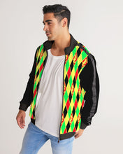 Laden Sie das Bild in den Galerie-Viewer, Dwayne Elliott Colection RBG Men's Stripe-Sleeve Track Jacket - Dwayne Elliott Collection