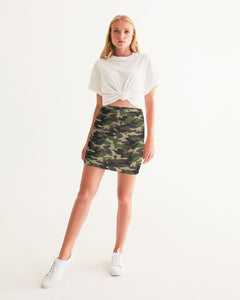 Dwayne Elliott Collection Camo Women's Mini Skirt - Dwayne Elliott Collection