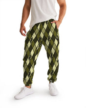 Laden Sie das Bild in den Galerie-Viewer, Dwayne Elliott Design Men's Argyle Track Pants - Dwayne Elliott Collection