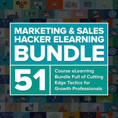 Marketing and Sales eLearning Bundle